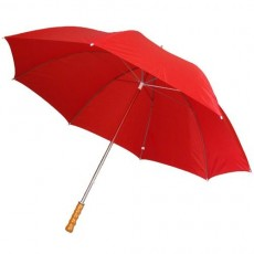 Grand parapluie golf rouge