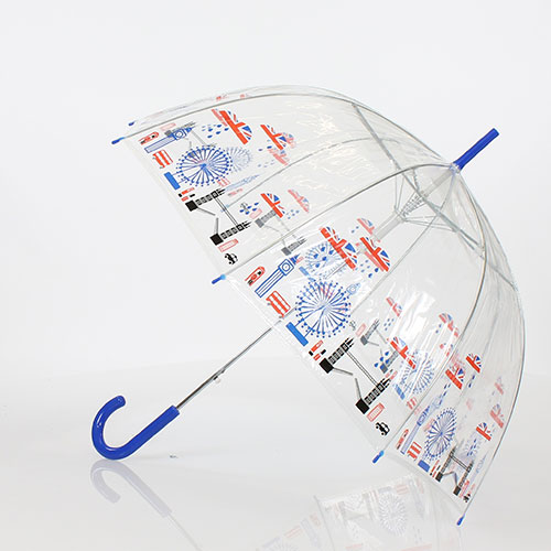 Parapluie cloche transparent Londres