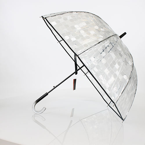 Parapluie cloche transparent Pierre Cardin