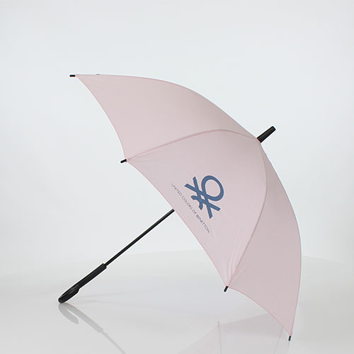 Parapluie long rose Benetton