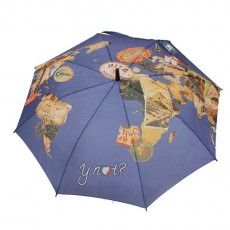 Parapluie vintage new world hotel