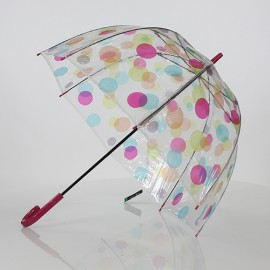 Parapluie cloche ronds multicolores Fulton