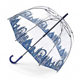 Parapluie transparent cloche london par Fulton