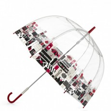 Parapluie cloche transparent Londres par Lulu Guinness