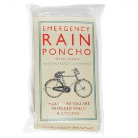 Poncho transparent jetable