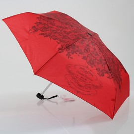 Parapluie ultra plat rouge Chantal Thomass