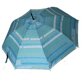 Grand parapluie bleu i feel good