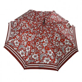 Parapluie canne rouge hawai Jean Paul Gaultier