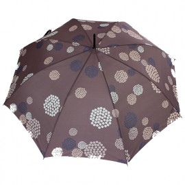 Parapluie canne automatique Pierre Cardin chic rose