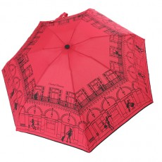 Parapluie pliant rouge Chantal Thomass