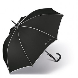 Parapluie Pierre Cardin black and white