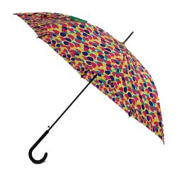 Parapluie long Benetton tulipes de Printemps multicolores
