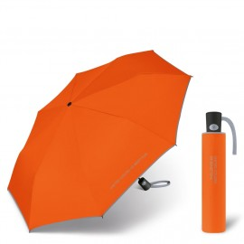 Parapluie automatique pliant 3 sections orange Benetton