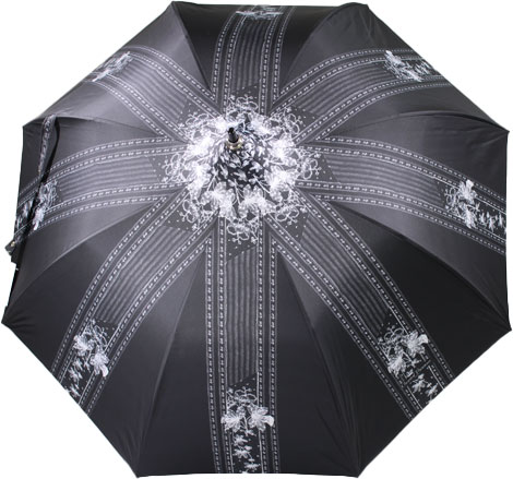 Parapluie forme pagode Chantal Thomass dentelle